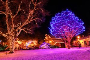 Christmas in Peddlers Village - Bucks County, Pennsylvania